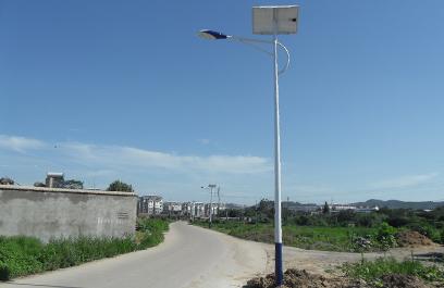 正翔户外照明LED太阳能路灯落户湖南郴州