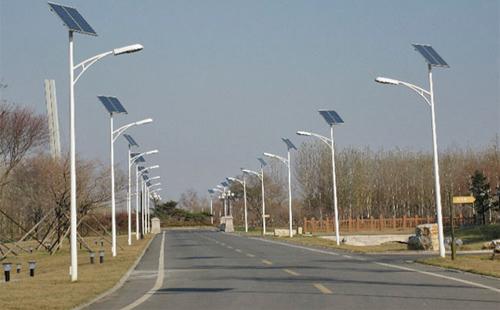 惠州博罗县罗阳新城水西新村太阳能路灯项目