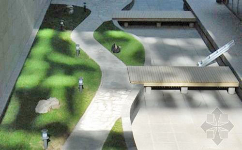正翔照明太阳能景观灯,百度园区项目安装
