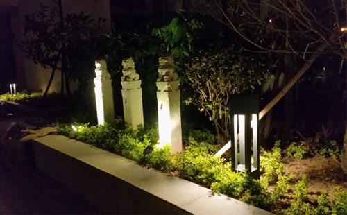 正翔照明厦门市湖里区汇金湖里小区照明项目