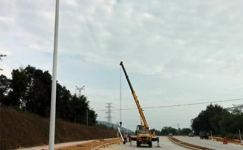 清远英德市政道路LED路灯工程,正翔照明承包啦