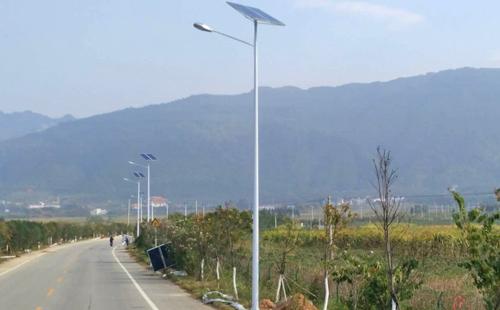 广西武鸣县大明山太阳能路灯工程