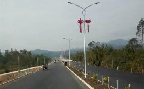 惠州市龙门LED路灯工程