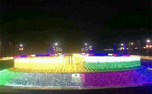 吉林广场亮化工程