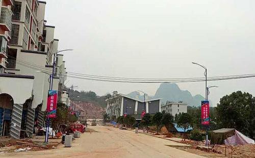 广西桂林市平乐县LED路灯