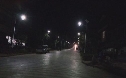 云南曲靖师宗雄壁太阳能路灯工程