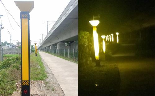 广西贵港市北区大圩镇LED景观灯工程