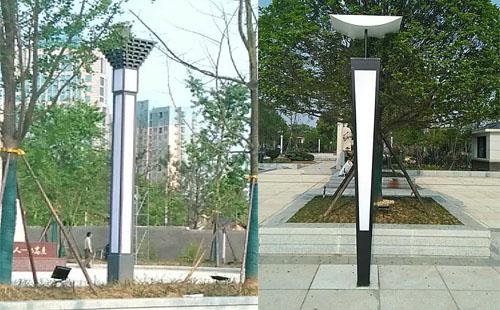 正翔照明岳阳市湘阴县文体广场LED景观灯照明