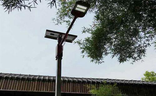 正翔照明广西宜州刘三姐镇旅游区LED太阳能路灯项目