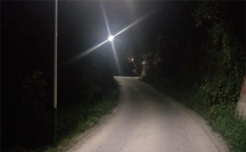 正翔照明之贵州遵义绥阳县新农村太阳能路灯