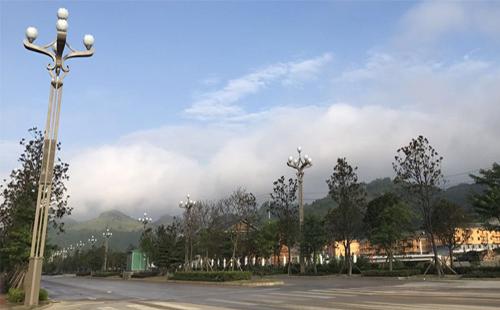 黔东南侗族玉兰灯,正翔照明领略民族风情