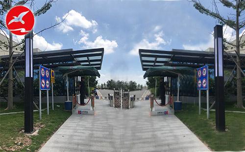 正翔照明完成了广东珠海丽珠医药公司的LED景观灯具照明