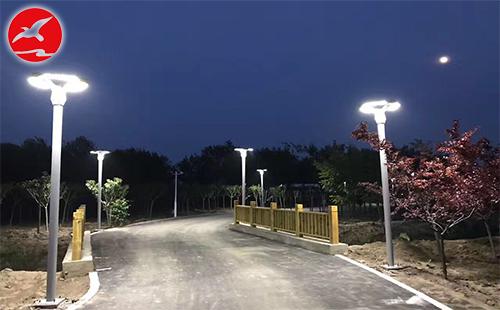 正翔照明LED庭院灯入驻广东韶关市新丰县马头镇
