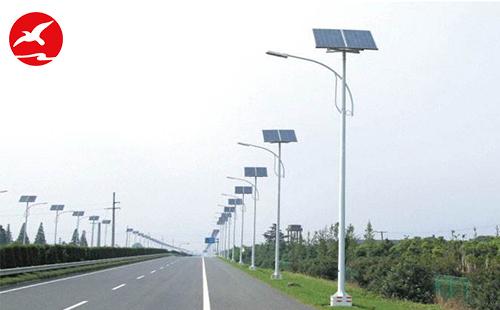 安装LED太阳能路灯是惠民大实事