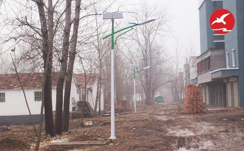 春节临近,中山太阳能路灯厂家已接近收尾工作
