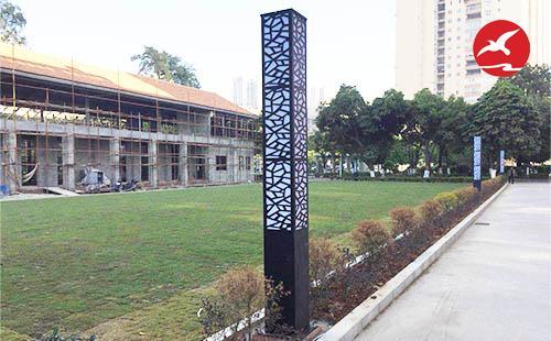 正翔照明完成了广西贵港市人民医院LED景观灯工程