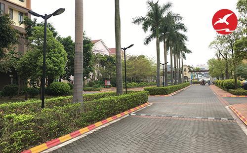 正翔照明完成惠州惠城区半山名苑别墅群LED庭院灯案例
