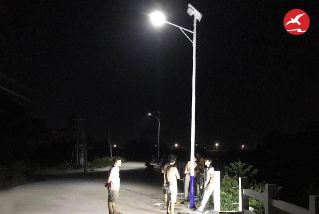 正翔照明带您全方位了解太阳能路灯光源的配光设计