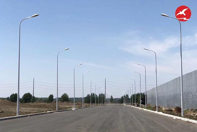正翔照明集团完成黑龙江先源乡LED路灯工程