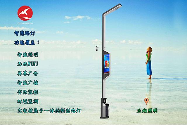 城市未来发展智慧路灯将全面覆盖