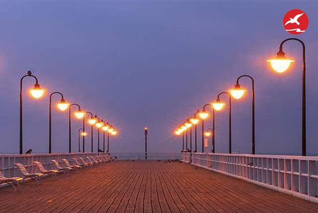 正翔照明分享LED庭院灯安装间距