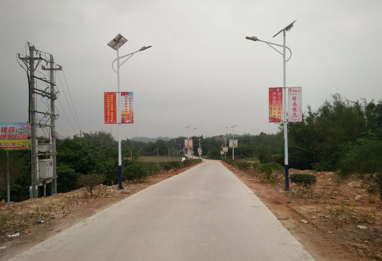 贵州凯里乡村太阳能路灯工程1