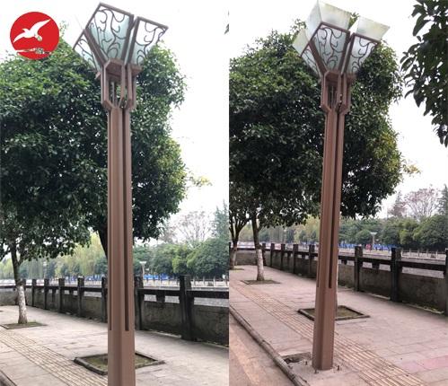 四川省达州市定制景观灯工程案例