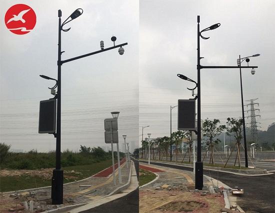 广东省珠海市智慧灯杆工程案例