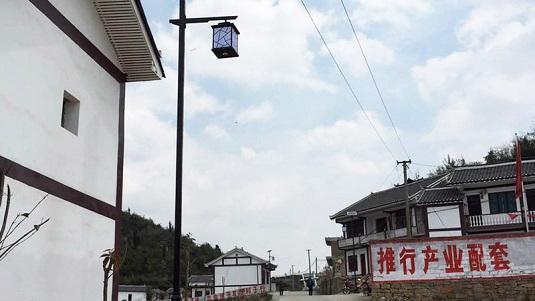 贵州省毕节市黔西县林泉镇特色太阳能路灯