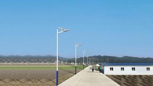 新农村太阳能路灯的推广与建设