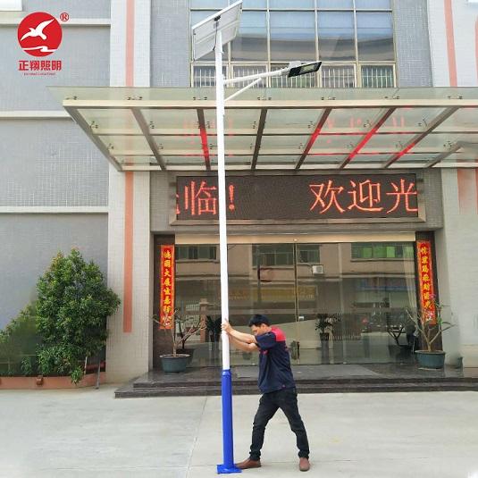 6米太阳能路灯的参数和验收标准_广东正翔