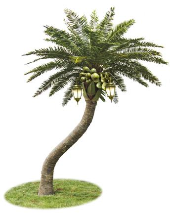 仿真椰子树 正翔8805
