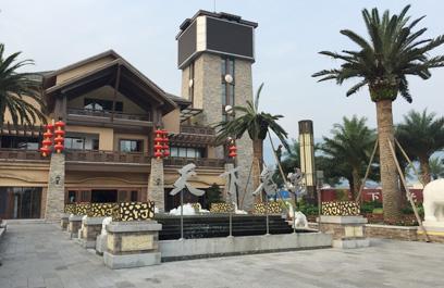福永第一期led景观庭院灯 正翔户外照明参与建设