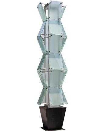 led钢化玻璃方型景观灯 正翔1053