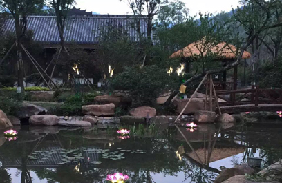 """贵州土城古镇 正翔照明用LED景观亮化领略""""红色文化"""""""
