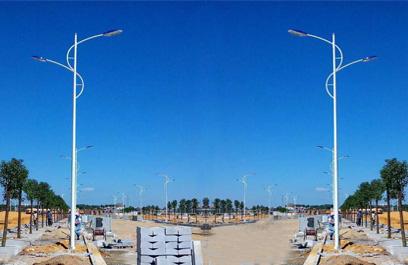 正翔照明佛山12米双臂路灯工程