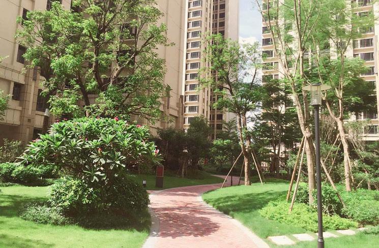 正翔小区照明项目走进深圳市南山区蛇口新区