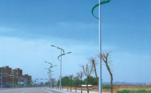 正翔户外照明完成广西南宁8米双头LED路灯工程项目